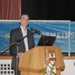 Festvortrag von Sébastien Oser, Leiter des Kompetenzzentrums Energie im Regierungspräsidium Freiburg