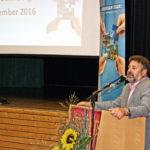 Aufsichtsratvorsitzender H. Stiefvater bei der Eröffnung der Generalversammlung 2016